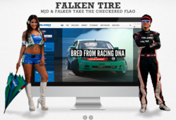 Falken Tire's responsive, Drupal web site redesign by MJD Interactive Agency